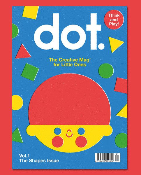 """Kinderzeitschrift """"DOT-Magazine Vol 1"""" vom ANORAK-Verlag – mundo azul"""