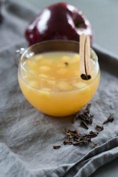 Rezept: Weihnachtlicher Bratapfel-Punsch #nonalcoholicbeverages