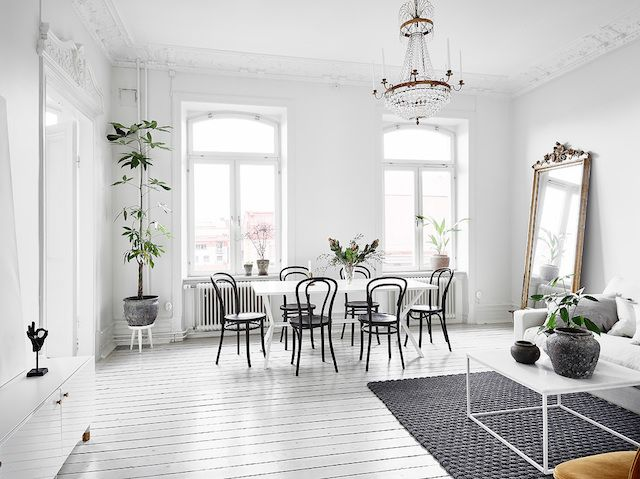 A magnificent white Swedish apartment (my scandinavian ...