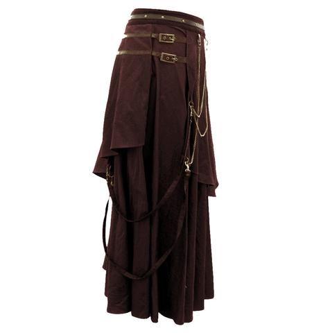 Debby Steampunk Skirt