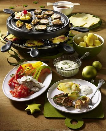 Raclette an Heiligabend Rezept   LECKER