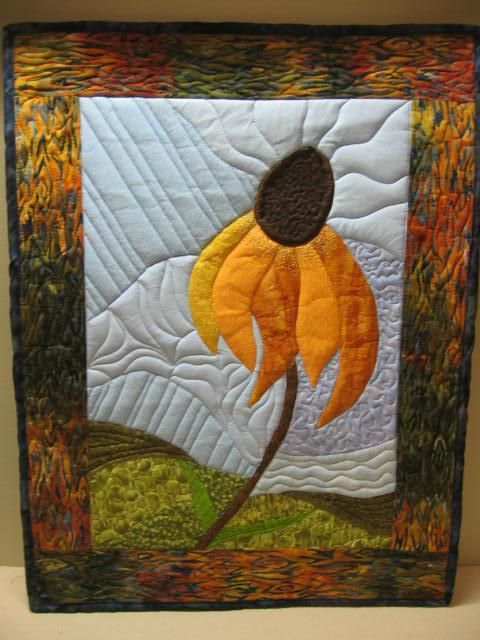Looking for quilting project inspiration? Check out Coneflower ... : pictorial quilt - Adamdwight.com