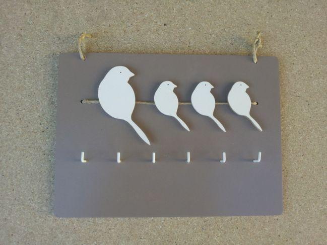 porte clefs mural en bois portes cl s pinterest clefs murale et en bois. Black Bedroom Furniture Sets. Home Design Ideas