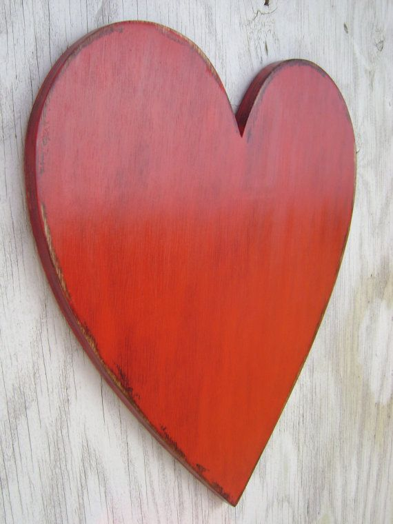 Items Similar To Large Wooden Heart Wedding Engagement Photo Props Wall Hanging Decor On Etsy Wooden Hearts Wall Hanging Hanging Wall Decor