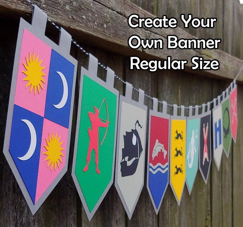 Youngarchitectureservices.com different designers have different working styles. Create Your Own House Sigils Throne of Games Party Banner ...