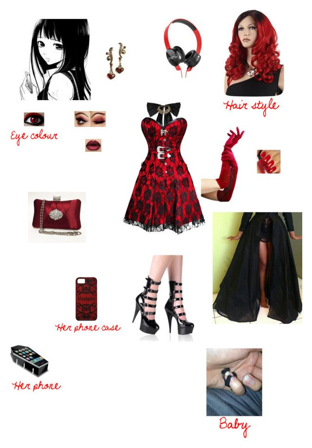 """Monster High: Fang Cross ( little cousin of Draculaura/Boo York, Boo York) Pt.2: Cleo's Forced Promise Ceremony"" by fangirl-of-seto-kaiba on Polyvore featuring Oscar de la Renta, Watson's, Sweet Romance, OPI and SOL Republic"
