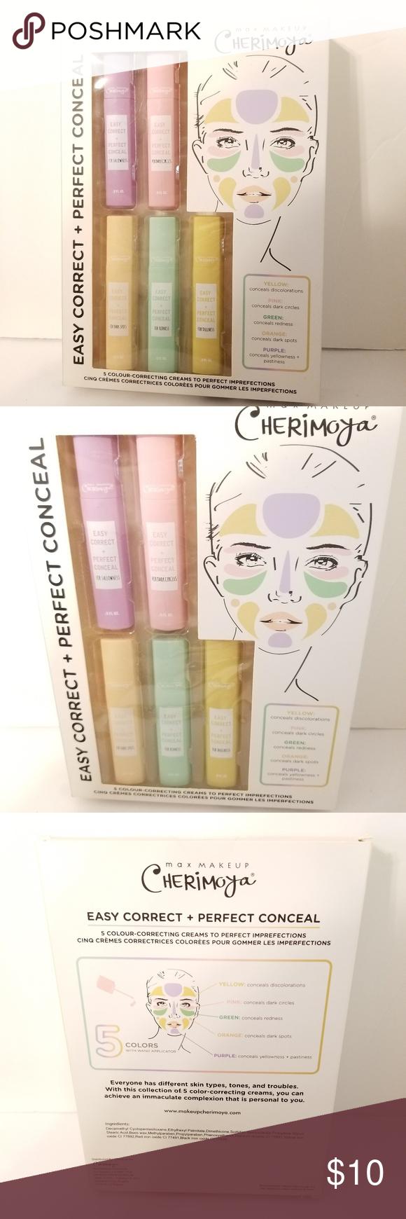 Max Makeup Cherimoya 5 Easy Correct + Conceal Max makeup