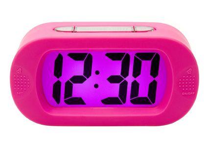 Nz 50 Karlsson Digital Gummy Pink Alarm Clock Dream