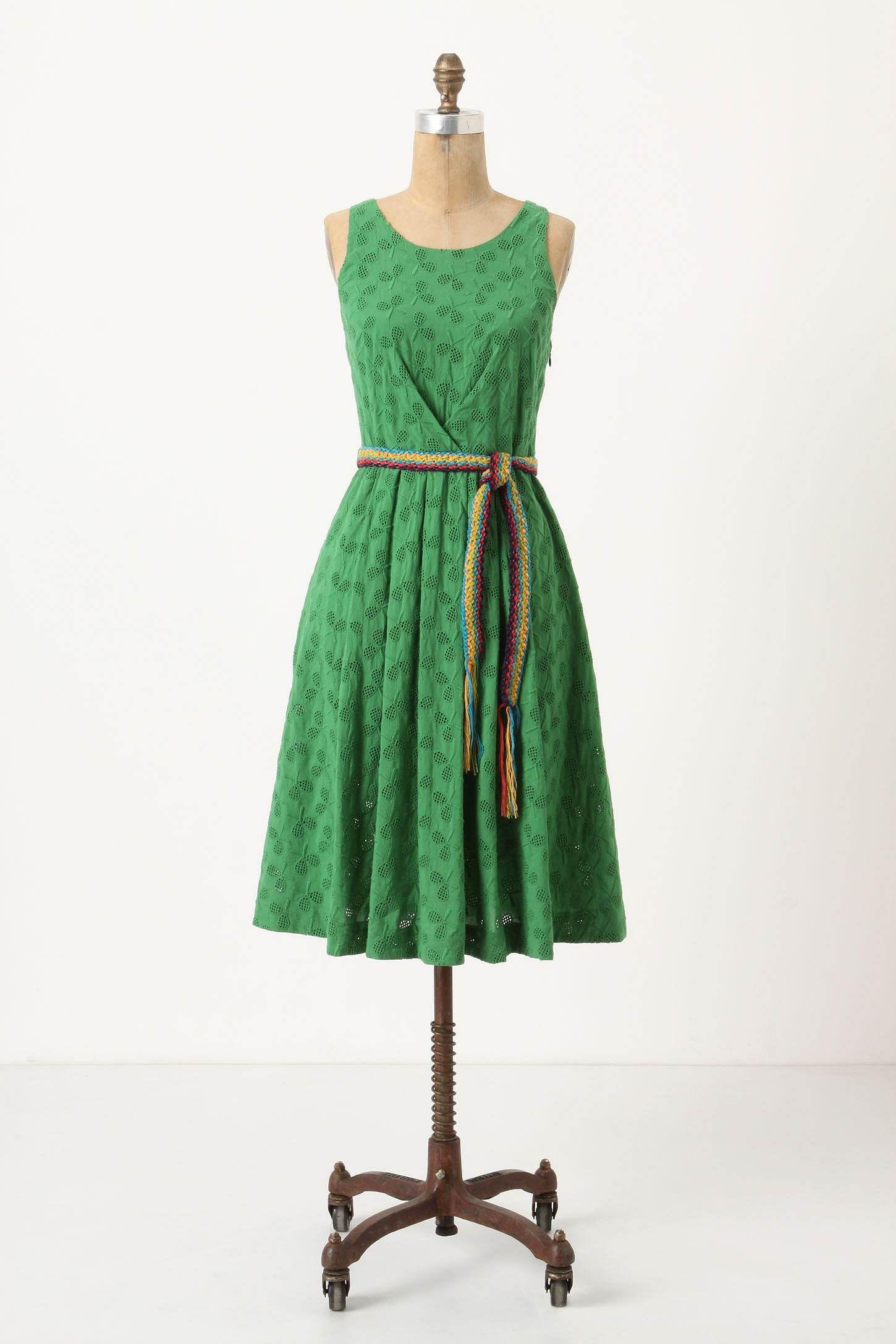 But not a real green dress, that's cruel.