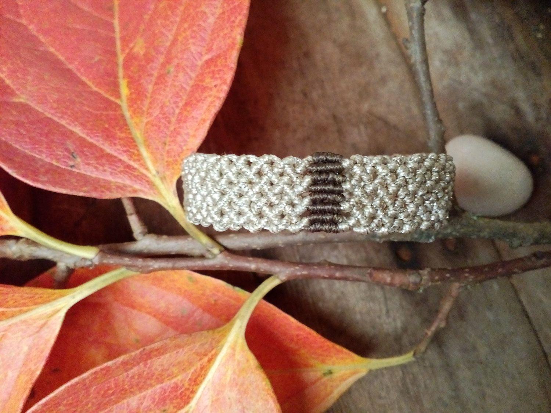 Macrame bracelet, Elegant bracelet,Boho bracelet, Hipie bracelet, Macrame armlet, Boho armlet, Hipie armlet, Macrame wristlet, Boho wristlet by AnKaArts on Etsy