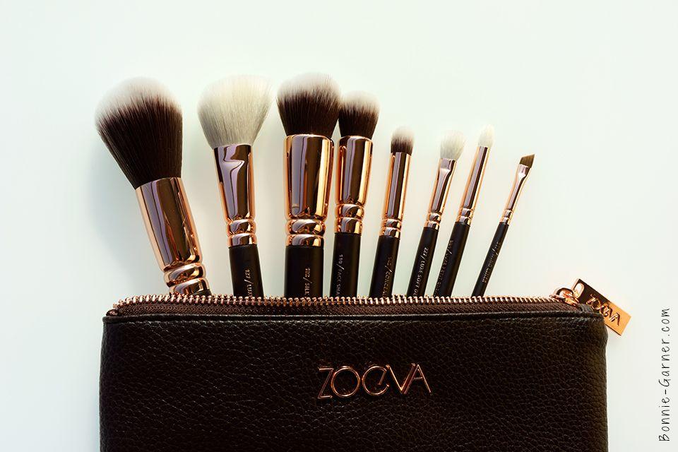 Zoeva Rose Golden Luxury Set Brushes My Review Zoeva