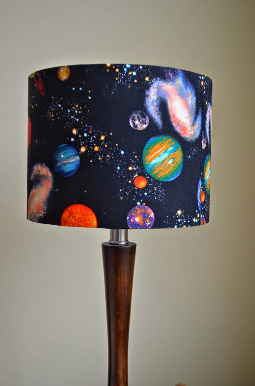 Handmade Kids Childrens Design Lampshades Drum Lampshade Table Ceiling Light