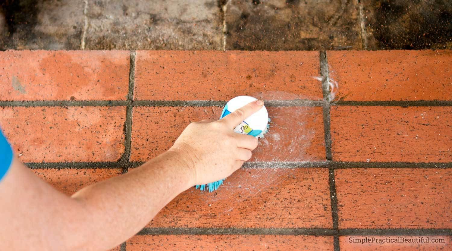 How to clean fireplace bricks clean fireplace cleaning