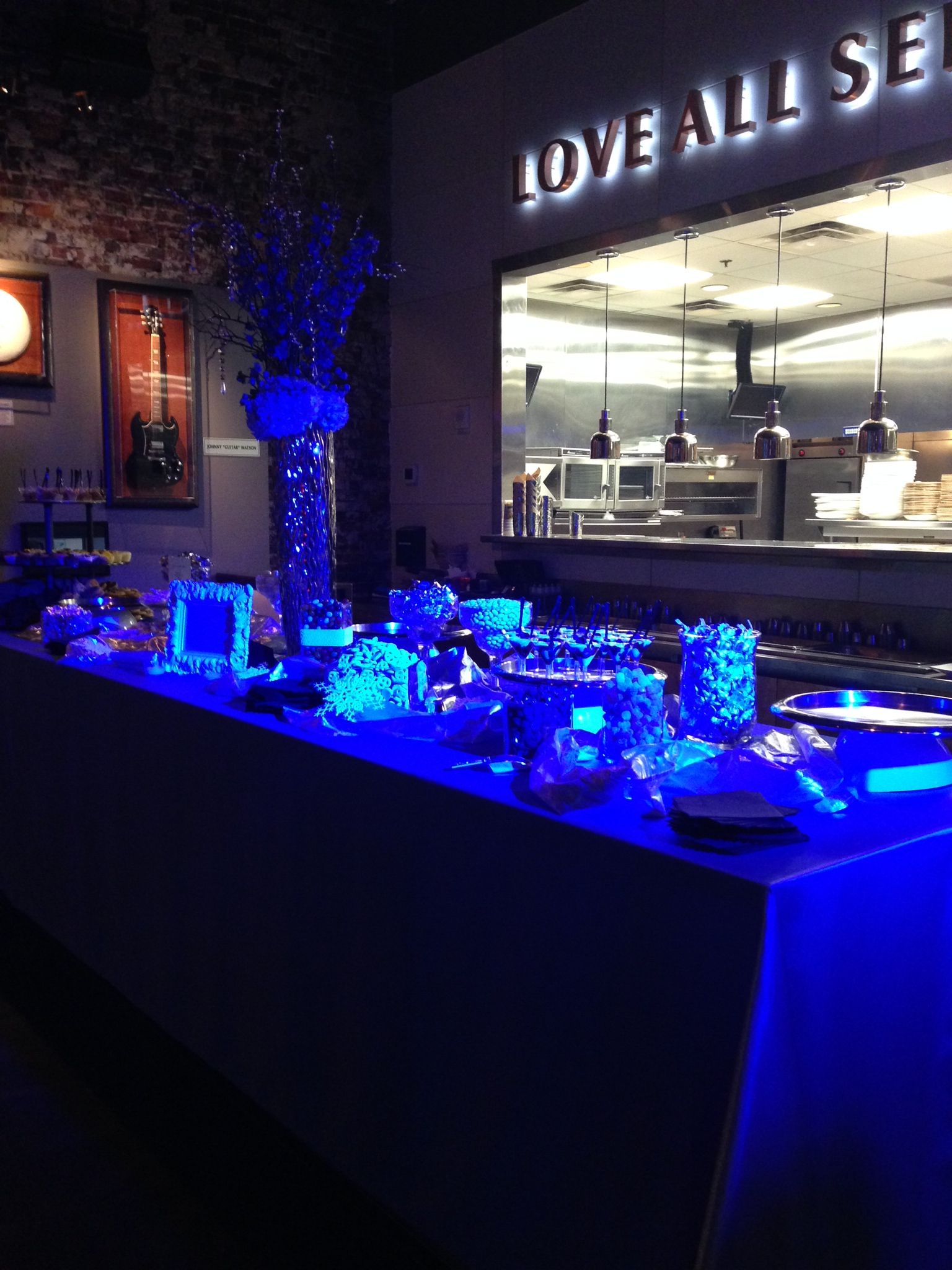Fire ice themed party candy table best events ever fire ice themed party candy table aloadofball Image collections