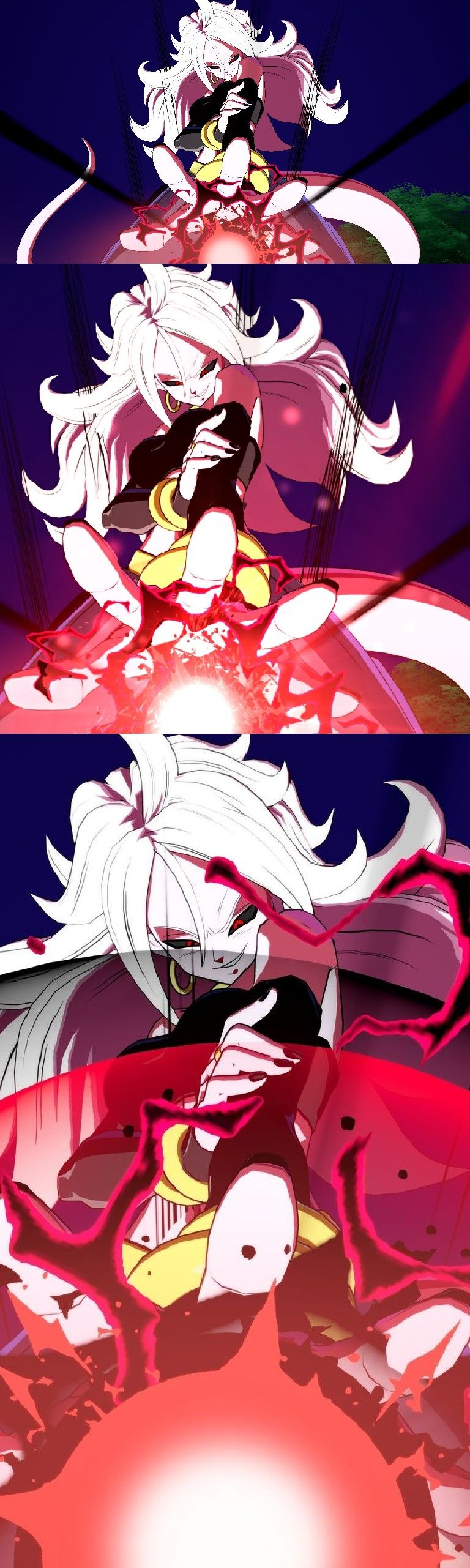 Evil Android 21 (With images) Female dragon, Anime