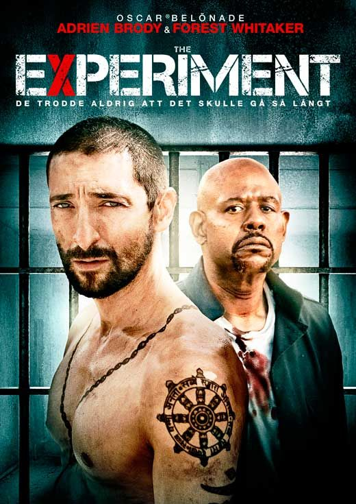 The Experiment Poster Movie Swedish 11x17 Adrien Brody Bidstart Experiments Adrien Brody Forest Whitaker