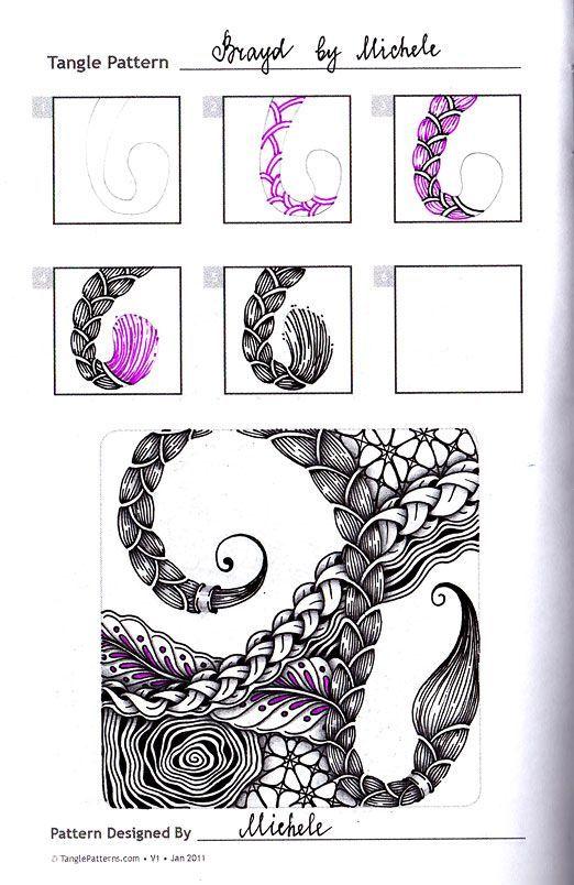 Pin de Barbra Gary en Zentangle | Pinterest | Dibujos zentangle ...