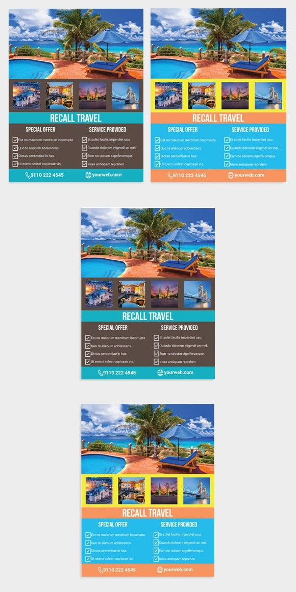 Tour Travel Agency Flyer Template  Flyer Templates