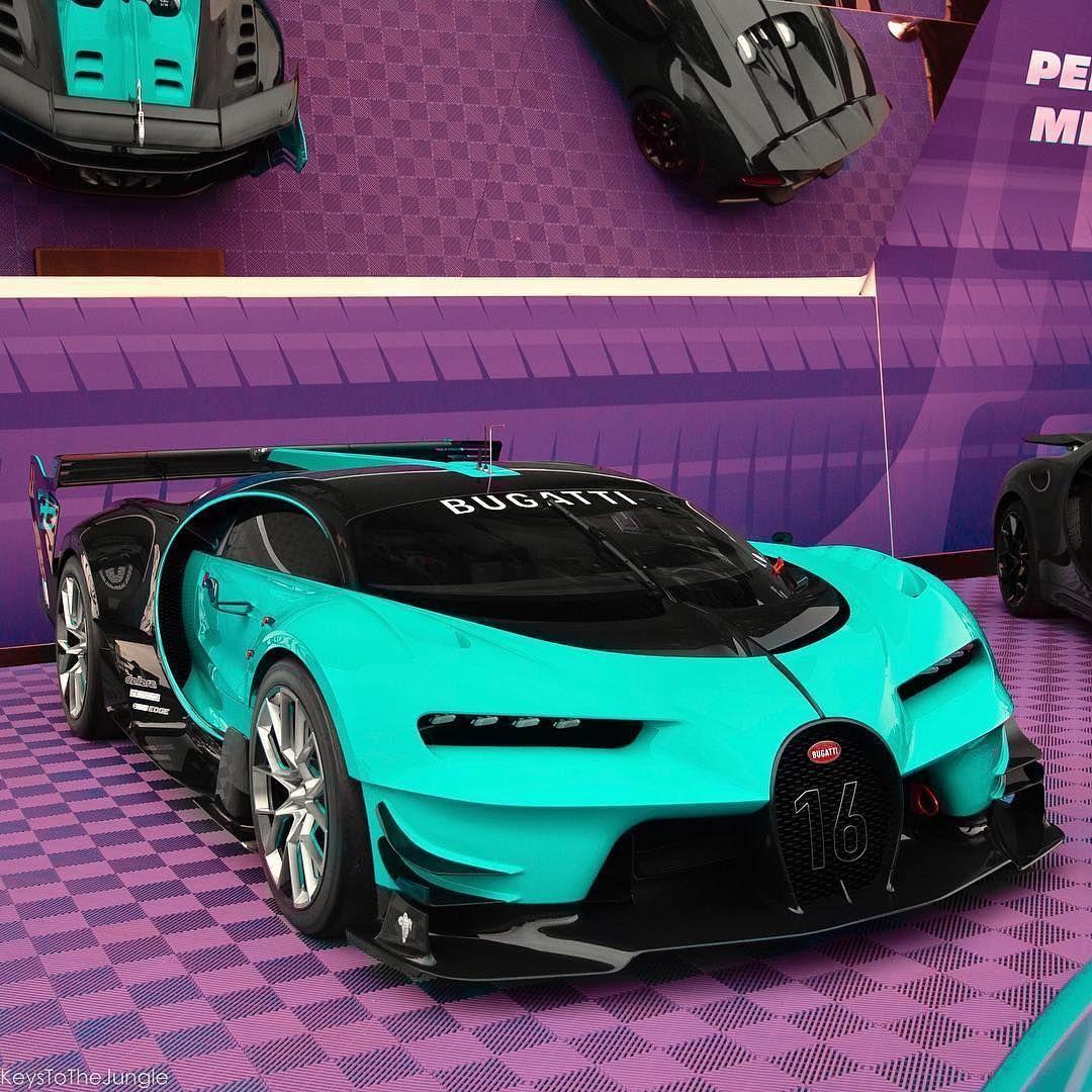 bugatti vision gt🔧 w16 engine🔝 top speed: 400km/h - 248mph🐎 1672