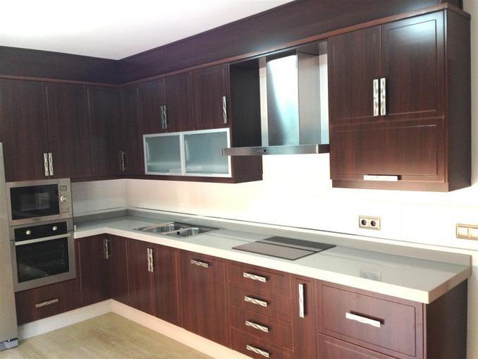 Muebles cocina PVC | Cocinas | Laminadas | kitchens | Pinterest