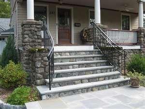Best Railing Stone Steps Front Porch Ideas Pinterest 400 x 300