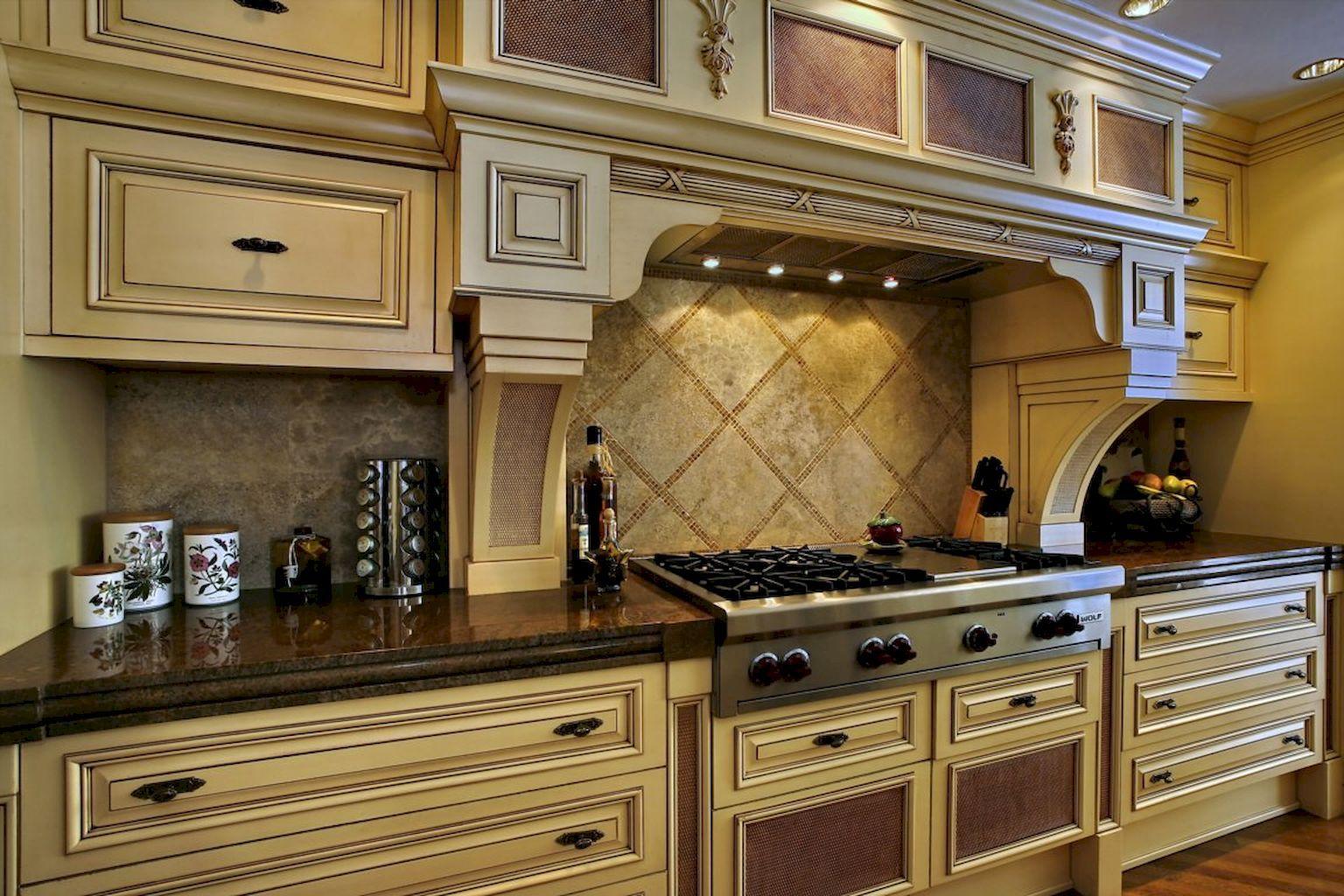 Best 30 Cozy Kitchen Cabinet Ideas | Cream colored kitchen ...