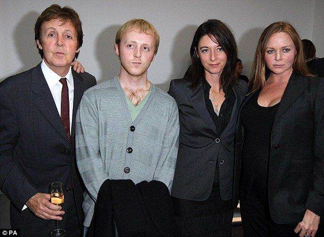 Paul Mccartney Grandson Sir Paul McCartney's g...