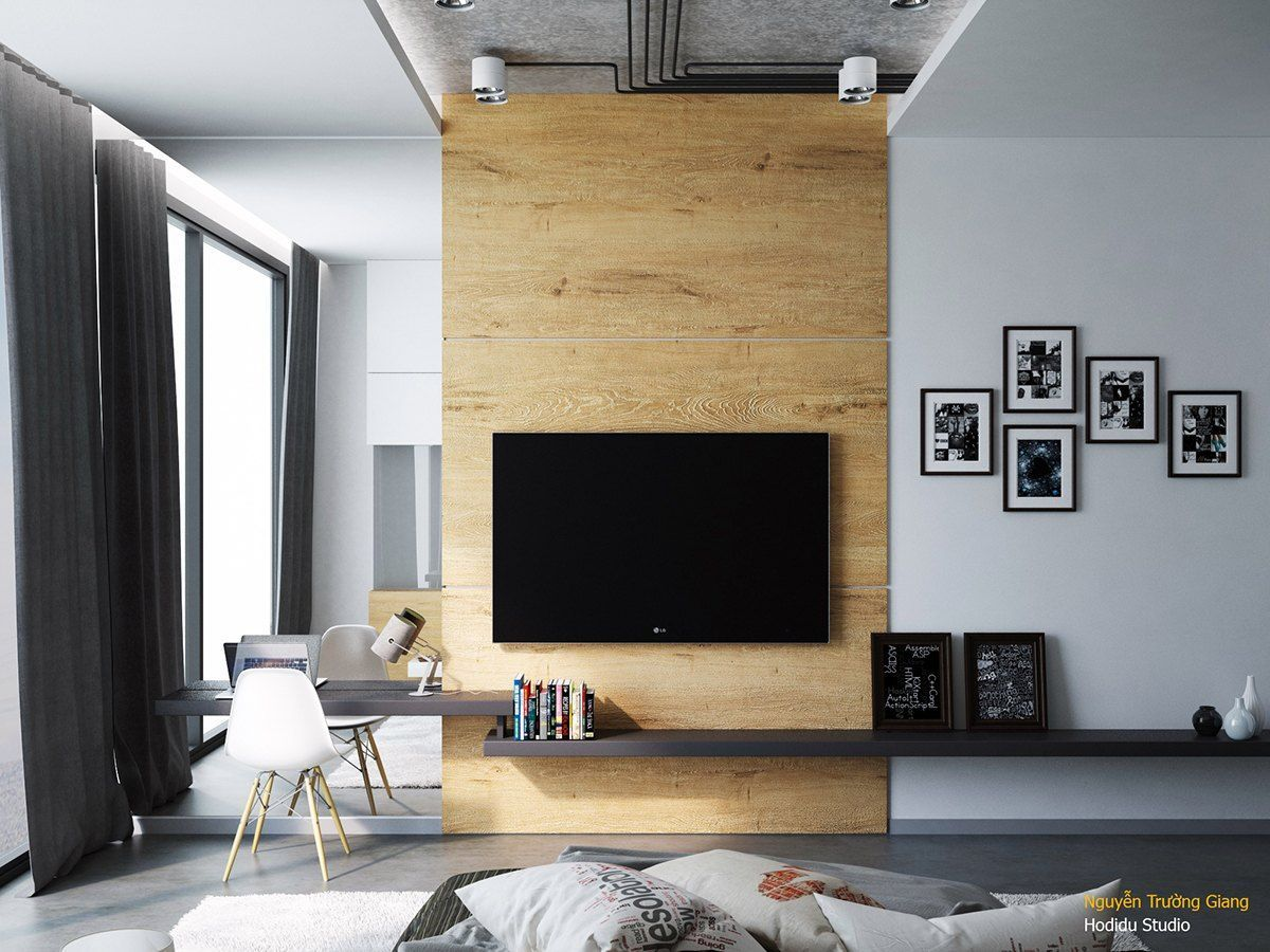 Awesome Accent Wall Ideas For Your Chic Home Bedroom Small Living Room Color Combinations Paint Pattern Wa Bedroom Tv Wall Tv Lounge Design Bedroom Design #small #living #room #accent #wall