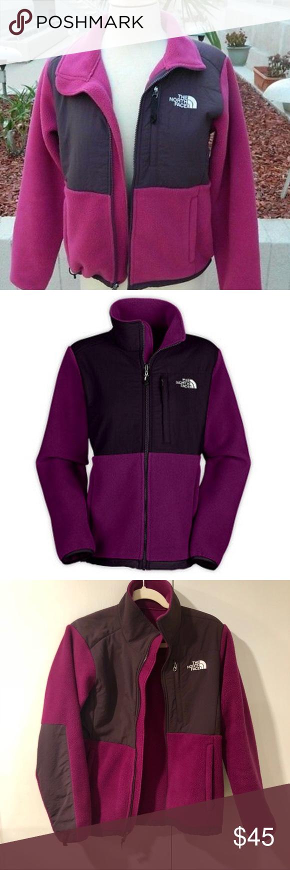 North face denali fleece jacketupurple size medium my posh picks