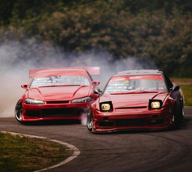 Scared 240 Trying To Escape From Angry 240 Drifting Cars Japan Cars Drift Cars