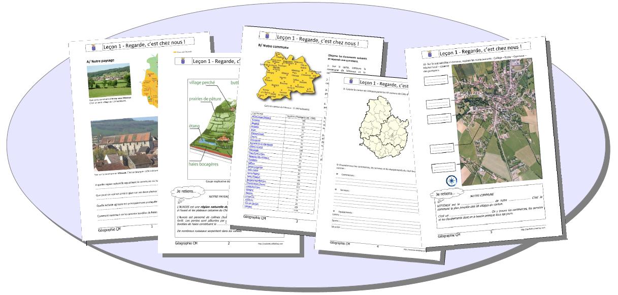 PDF  GEOGRAPHIE CYCLE 3 Programmation CM1 par compétences