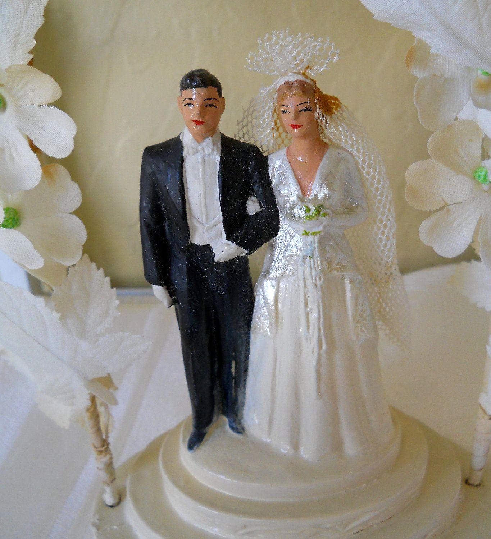 Vintage wedding cake topper wedding cake toppers pinterest