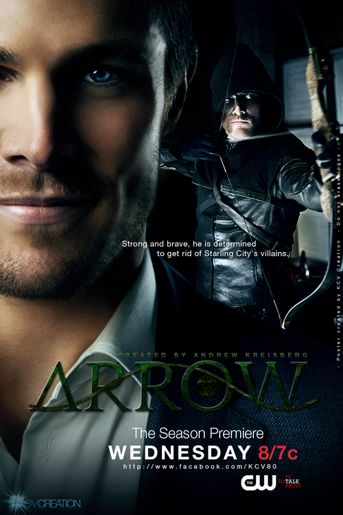 Arrow TV Show. Was tempted by the writeup to buy the first season boxed set of DVDs. Much better than I expected.