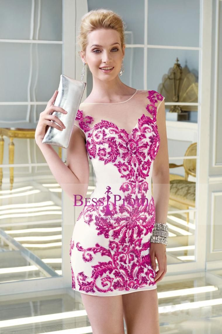 Beading Scoop Whole Stunning Short Length Prom Dress | Vestidos ...