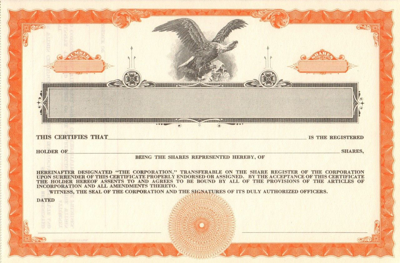 Blank stock certificate lot 40 pieces old stock certificates blank stock certificate lot 40 pieces 1betcityfo Choice Image
