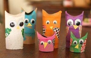 Toilet paper roll owls by federica.mic - Kreabarn.dk sætter børnene i fokus. Læs med på vores blog på hjemmesiden, på instagram eller facebook.