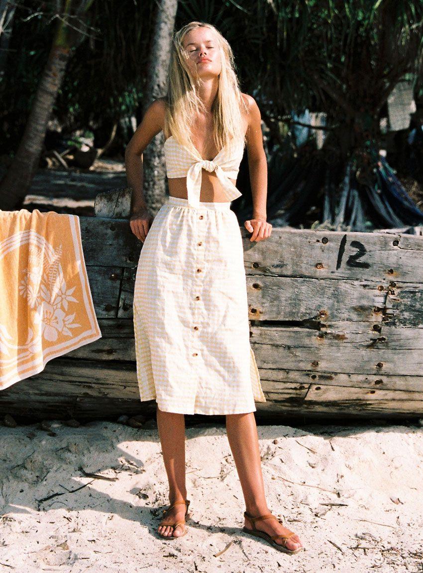 81db83e035 Buy Seine Skirt - Faithfull The Brand | Amore | Faithfull the brand ...