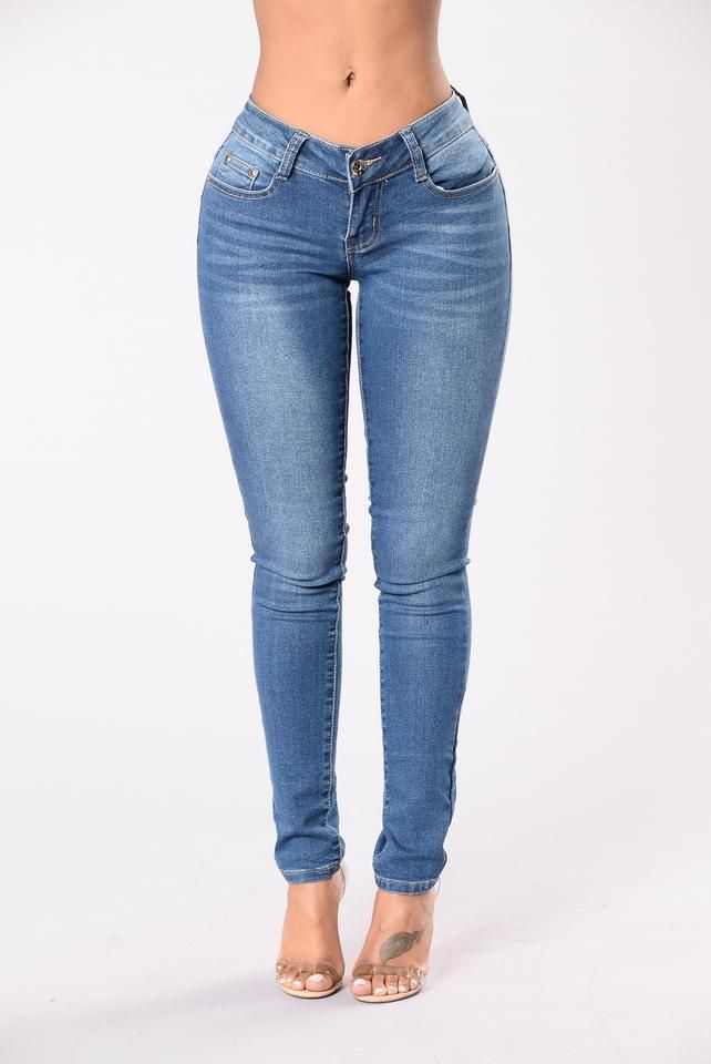 a6b003d2afa I Just Might Booty Shaping Jeans - Medium Wash