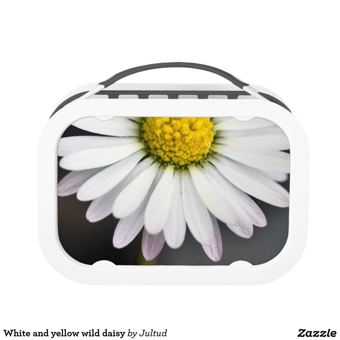 White And Yellow Wild Daisy Lunch Box Kitchenaccessories Gifts Flowers
