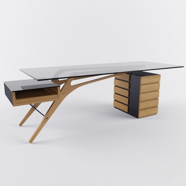 Desk Zanotta Cavour Design Form in 2019 Contemporary