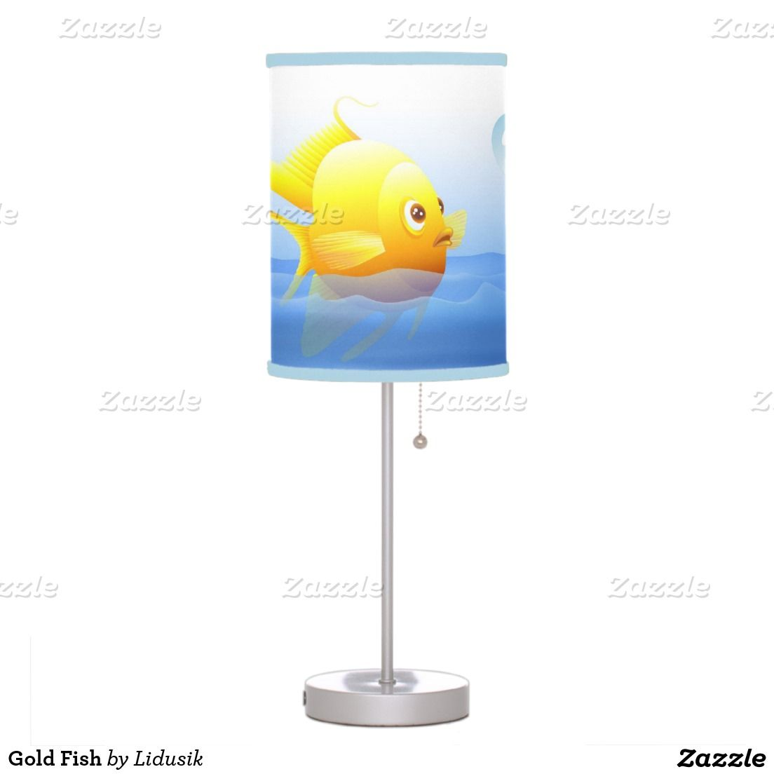 Gold fish table lamp fish table lamps and gold gold fish table lamp aloadofball Images