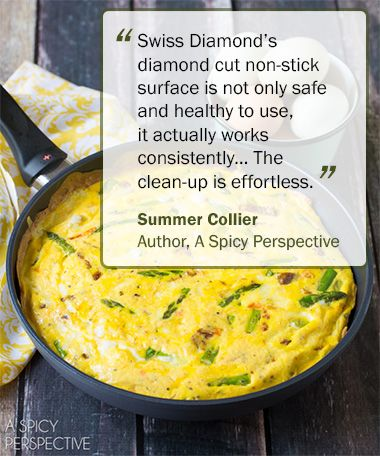 """""""Truth be told, we had nearly given up on nonstick cookware altogether, when we first discovered Swiss Diamond. We had gone through pan after pan, brand after brand, not impressed by any of them... We've told numerous close friends that they must have a Swiss Diamond skillet. Nothing else compares."""" 