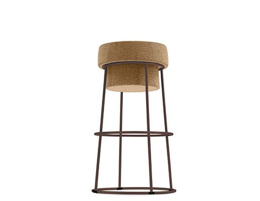 Hocker mit Korksitz, Stahlgestell rost stool Pinterest - barhocker mit lehne 15 beispiele