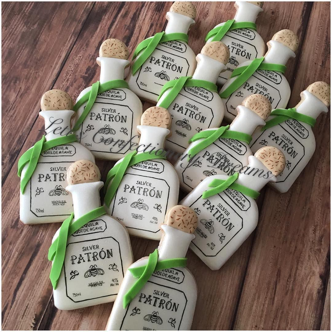 Patron Bottles  The ultra fine detailing paintbrushes I got from @partytraincakesupplies a few months ago make it easy to hand paint all the detailing on these bottles!! #patron #patroncookies #patronbottles #patronbottlecookies #cookies #cookieart #customcookies #customdecoratedcookies #decoratedcookies #decoratedsugarcookies #edibleart #handpainted #handpaintedcookies #royalicing #sugarcookies #dmv #dmvnetwork #vabch #vabeach #virginiabeach #letisconfectionerydreams #lcd by…