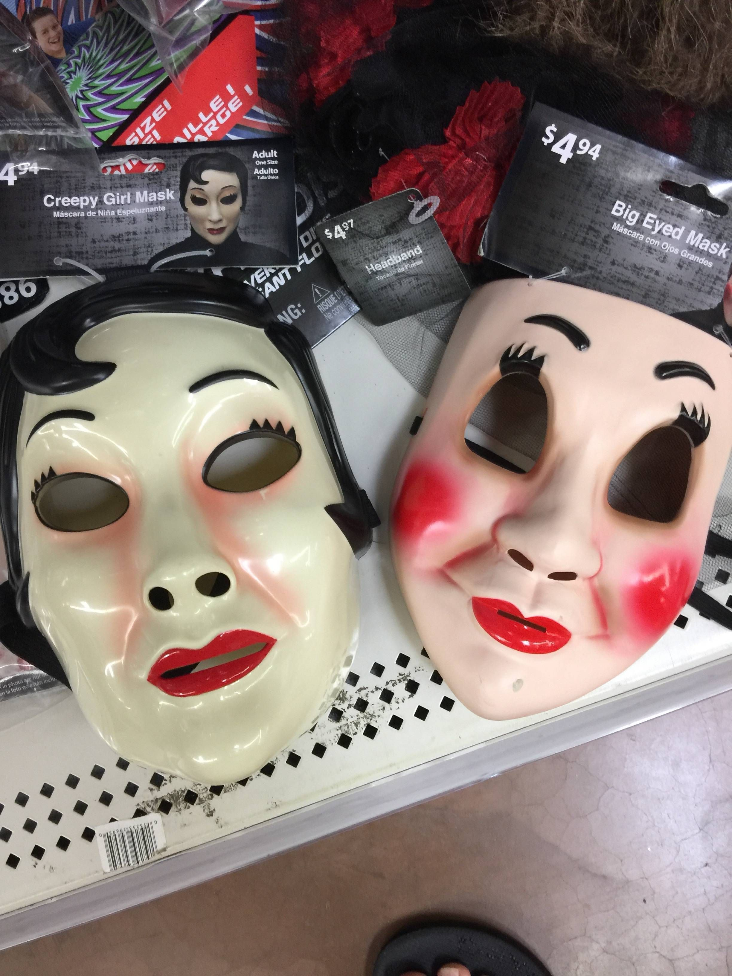 The Strangers knock-off masks available at Wal-Mart for Halloween ...