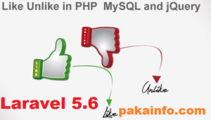 Laravel 5 6 Like Dislike rating system with jQuery, Ajax and PHP