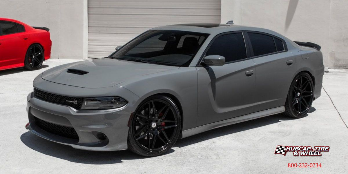 2017 Dodge Charger Asanti Black Label Abl 11 Gloss Black 20x8 5 Sports Cars Luxury Dodge Charger Black Dodge Charger