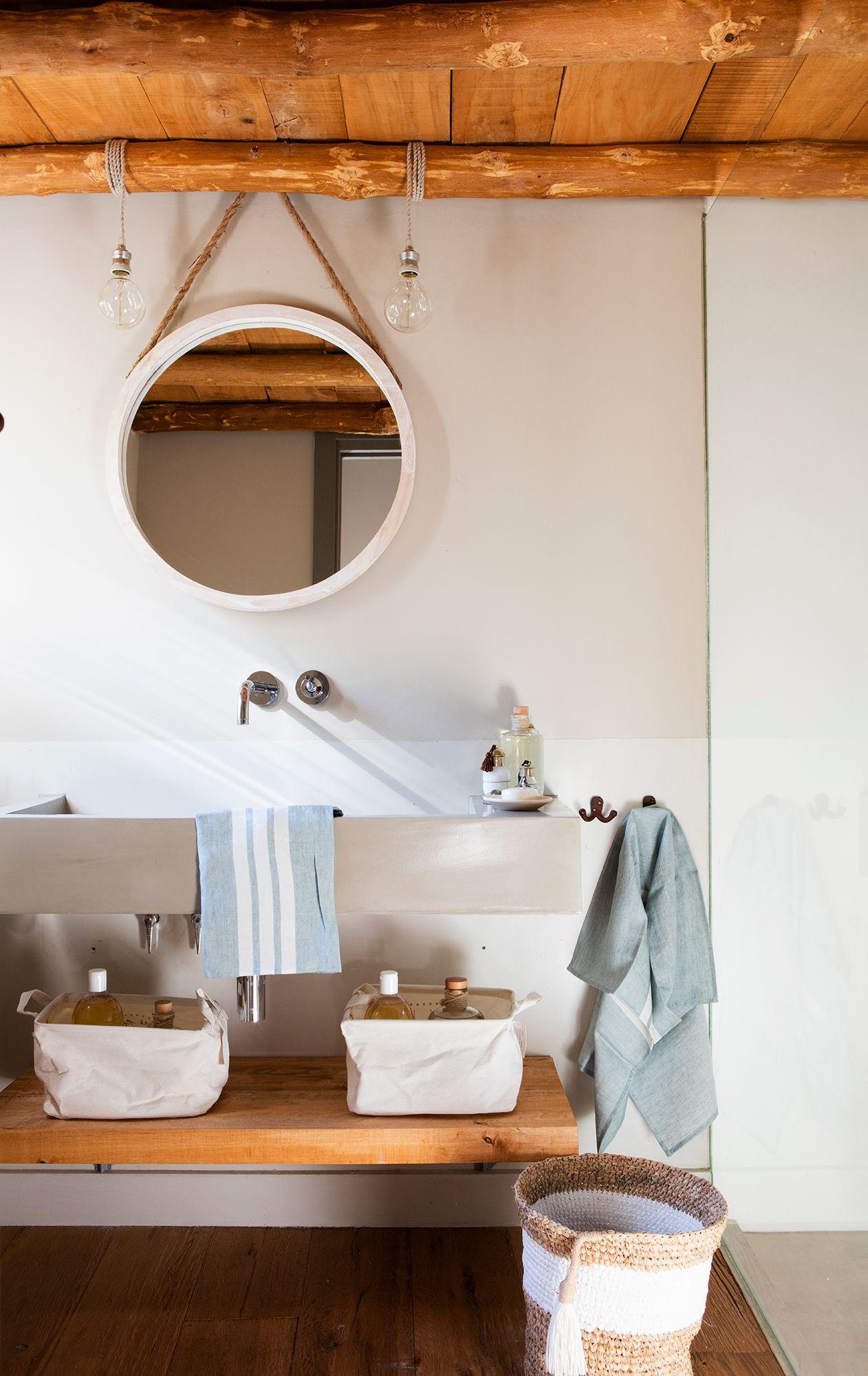 Como Renovar El Bano Por 500 Espejo Redondo Para Bano Bano