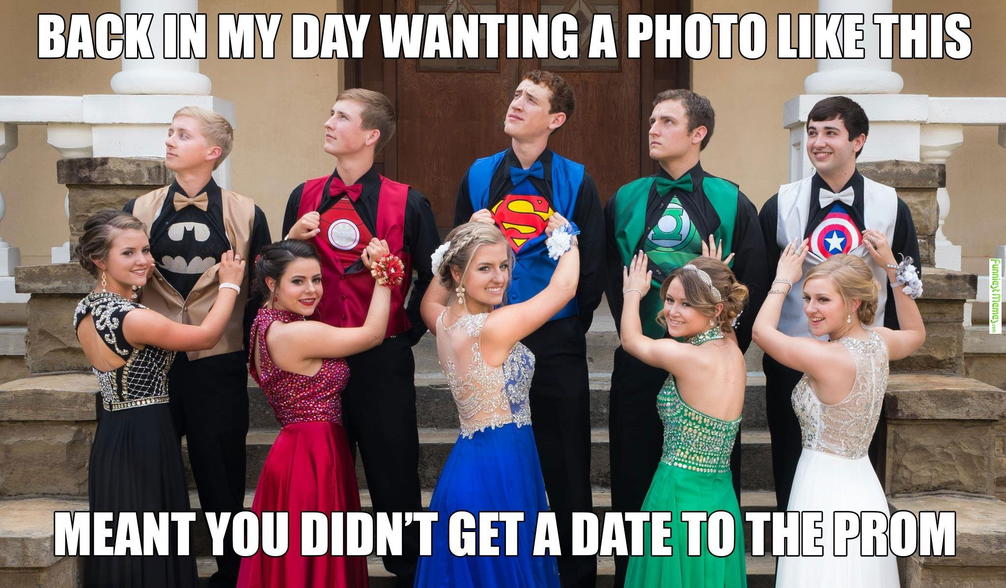 Funniestmemes Com Funny Memes Kids These Days Have It Easy Prom Pictures Prom Memes Funny Prom [ 1198 x 2048 Pixel ]