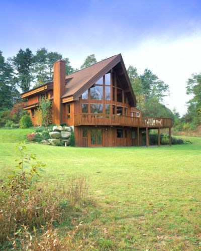 small cedar home plans. Picture of Prow house number 24088 from Lindal Cedar Homes  worldwide manufacturer post and beam homes solid cedar custom log sunrooms My favorite A frame style home Perfect for a place tucked away in